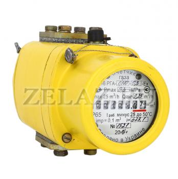 Камерные счетчики газа ротационного типа РГА